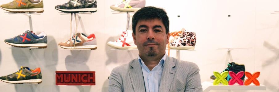 Xavier Berneda, diretor geral da empresa de moda e esporte Munich; empresa cliente dos SMS Lleida.net