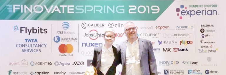 Finovate Spring 2019:  you in Lleida me in San Francisco