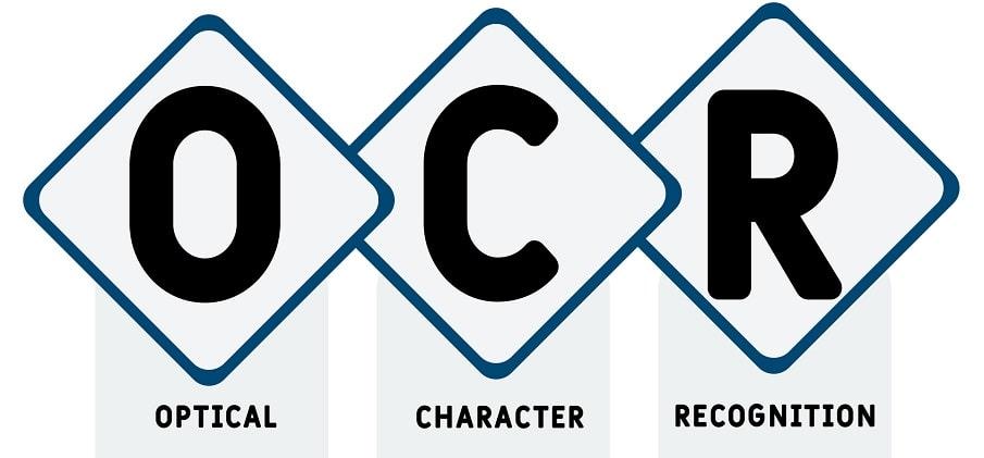 Utilisations technologie OCR :  obtention de codes CUPS – PDL et autres applications